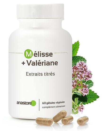Anastore Melisa y Valeriana 400 mg - 60 Cápsulas