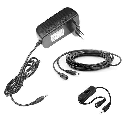 MyVolts Chargeur/Alimentation 9V Compatible avec Enregistreur Zoom H2 (Adaptateur Secteur) - Prise française - Premium