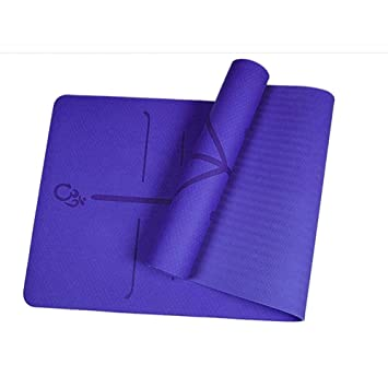 HYTGFR Esterilla Yoga Antideslizante TPE Estera De Yoga con ...
