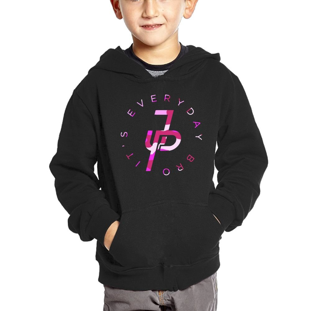 Jake Paul Its Every Day Pink Teenager Hip Hop Pullover Hoodie Sweater with Kangaroo Pocket Hooded Sweatshirts