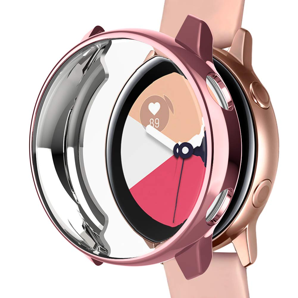 Funda Para Samsung Galaxy Watch Active 40mm (rosa)