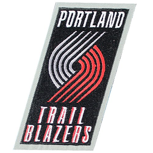 Portland Trail Blazers Primary Team Logo Jersey NBA Official Basketball Patch by Patch Collection
