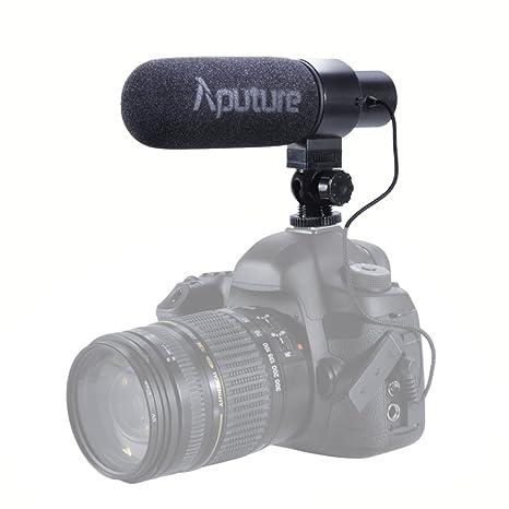 Aputure V-Mic D1 Direccional Condensador Micrófono de Cañón para ...