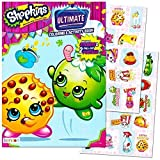 Shopkins Coloring and Activity Book with Stickers Review and Comparison