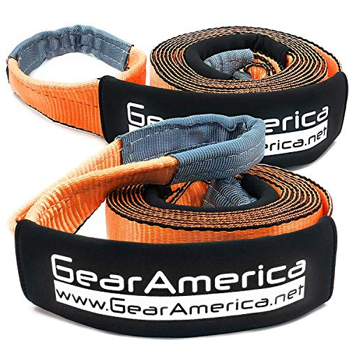 GearAmerica (2PK) Recovery Tow Straps 3