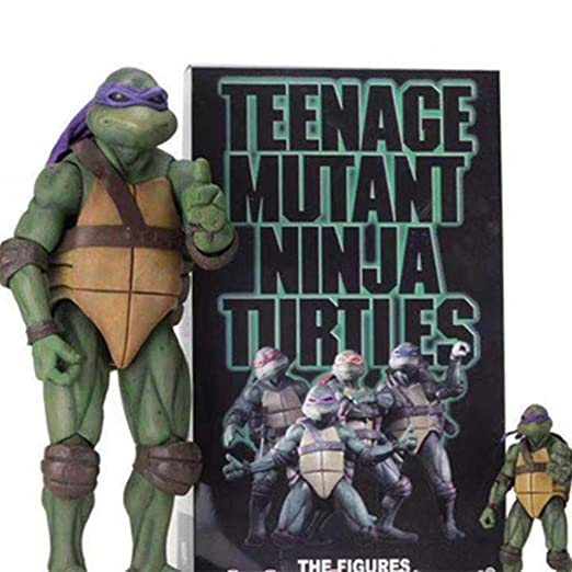 COOL MODEL 4 Piezas Teenage Mutant Ninja Turtle TMNT ...