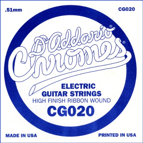 d 39 addario cg020 flat wound electric guitar single string 020 guitar buy online free. Black Bedroom Furniture Sets. Home Design Ideas
