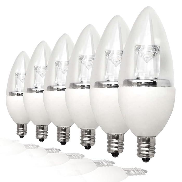 The Best Ge 25Watt Led Candelabra Bulbs Daylight