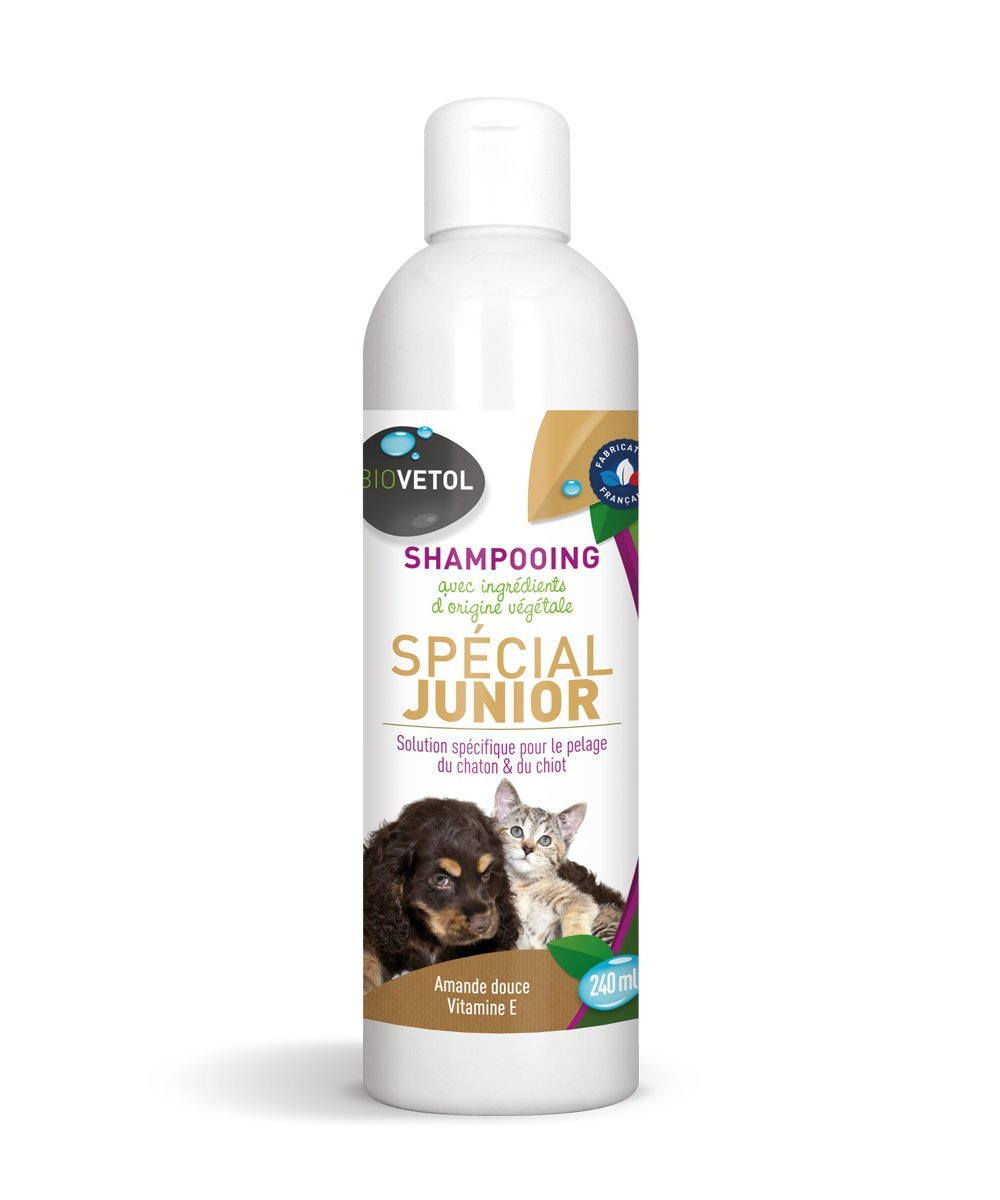 Biovetol - Shampooing Junior Chaton et Chiot - 240 ML Cap' Finity Laboratoire