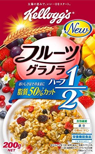 Kellogg fruit granola half 200gX5 boxes by Kellogg's (Image #1)