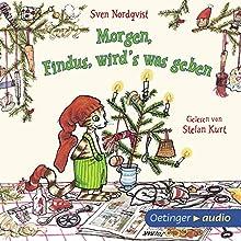 Morgen, Findus, wird's was geben (Pettersson und Findus) Hörbuch von Sven Nordqvist Gesprochen von: Stefan Kurt