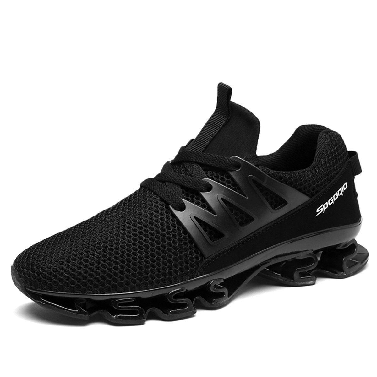 TALLA 39 EU. LSGEGO Zapatillas de Running para Hombre Zapatillas de Deporte Ligeras y Transpirables Zapatillas de Deporte atléticas Circulares Sneaker