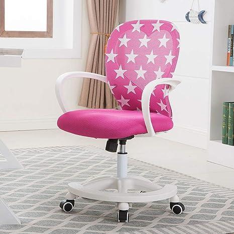 Sedia Da Scrivania Rosa.Desk Chair Regolabile Studente Sedia Del Gioco Computer Sedia Da