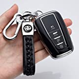 121Fruit Way for Toyota Key Fob Cover Premium Soft TPU 360 Degree Protection Key Case Compatible with 2018 2019 2020…