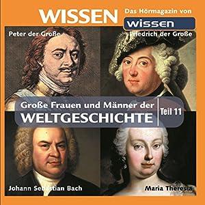 Große Frauen und Männer der Weltgeschichte - Teil 11 Hörbuch