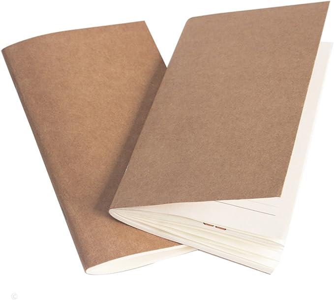 p/áginas en blanco color marr/ón cuaderno de dibujo Cuaderno de piel vintage bloc de notas de escritura rellenable para ni/ñas diario de viaje mariposa chica mujeres