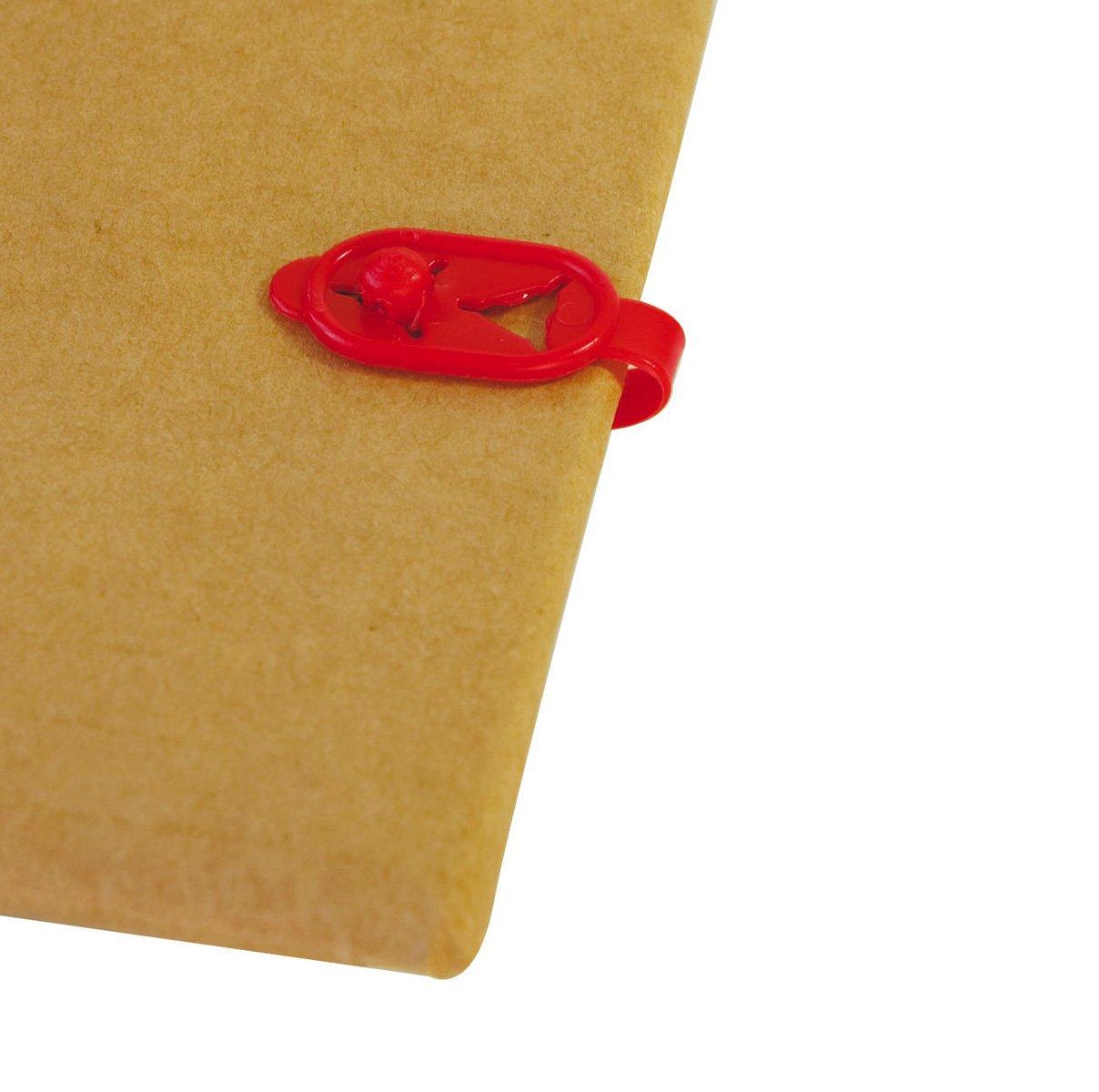 colore: nero Fascette fermafogli in polietilene 30//38 x 8 mm Laurel Duo confezione: scatola