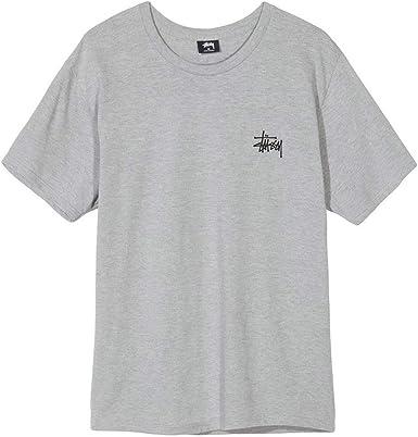 Stussy Basic Camiseta Hombre Gris XL (X-Large): Amazon.es: Ropa y accesorios