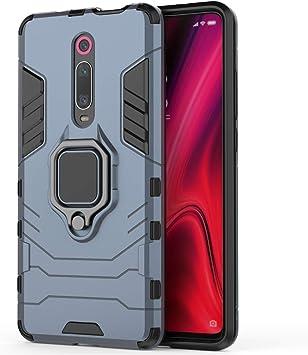 XIFAN Funda para Xiaomi Mi 9T, [Robusto] Anillo Metálico Soporte ...