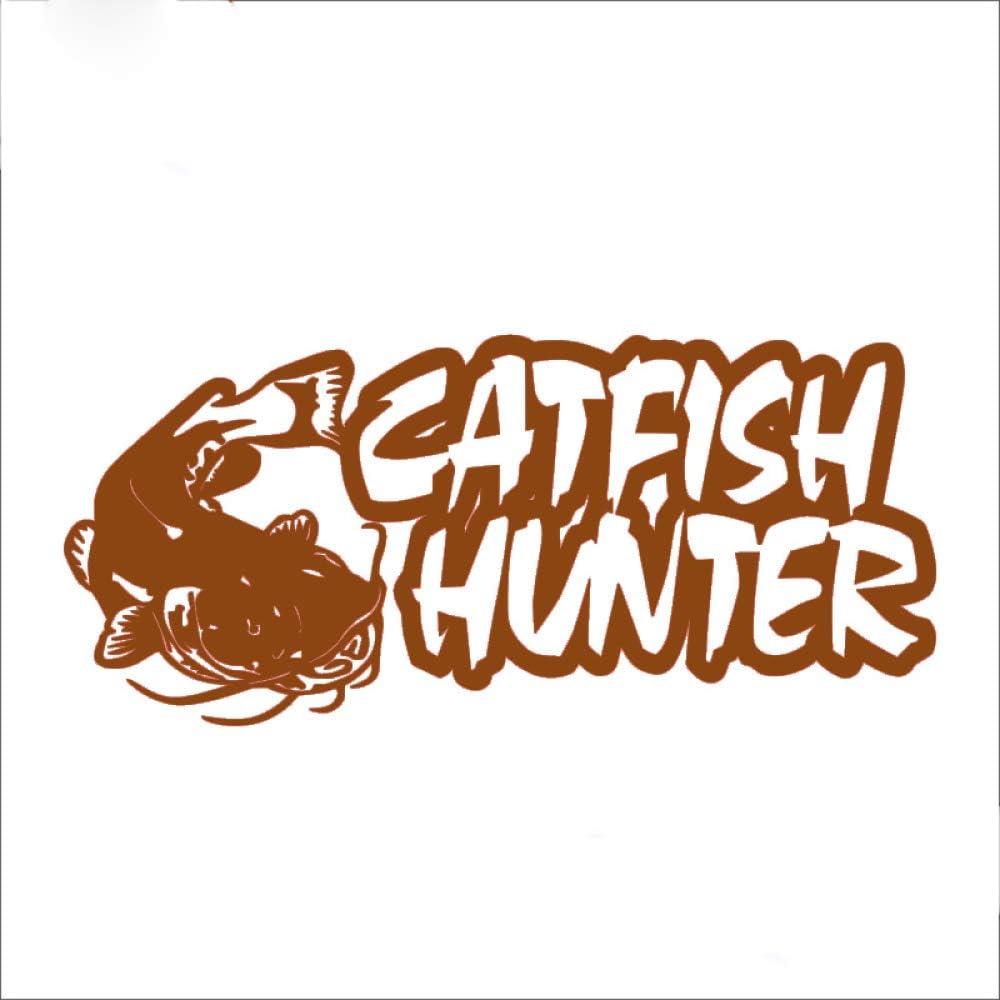 guijiumai Etiqueta engomada de la Pesca Etiqueta de Pescado de bagre de Coche Ganchos de Pesca Aparejos Tienda Carteles Vinilo Tatuajes de Pared Hunter Decoración Mural Etiqueta 3 36x80cm