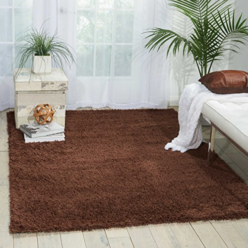Nourison Splendor (SPL1) Chocolate Rectangle Area Rug, 2-Feet 3-Inches by 3-Feet 9-Inches (2'3