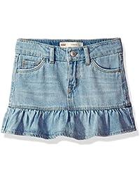 Girls' Denim Scooter Skirt