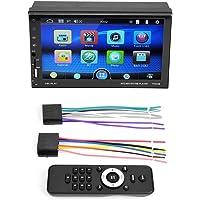 Liukouu 7 Pulgadas HD Pantalla táctil Bluetooth Radio