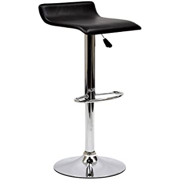 Modway Gloria Retro Modern Faux Leather Bar Stools in Black  sc 1 st  Amazon.com & Amazon.com: Modway Gloria Retro Modern Faux Leather Bar Stools in ... islam-shia.org