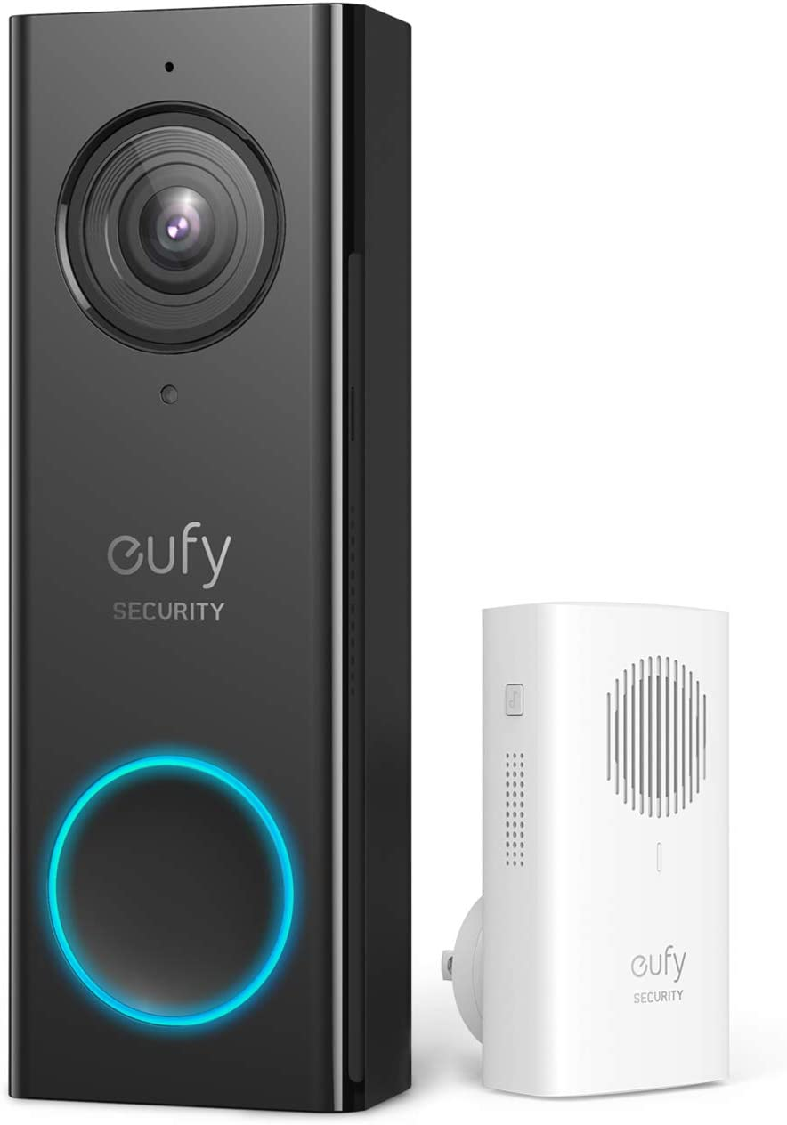Best Video Doorbell Without Subscription - eufy Security, Wi-Fi Video Doorbell