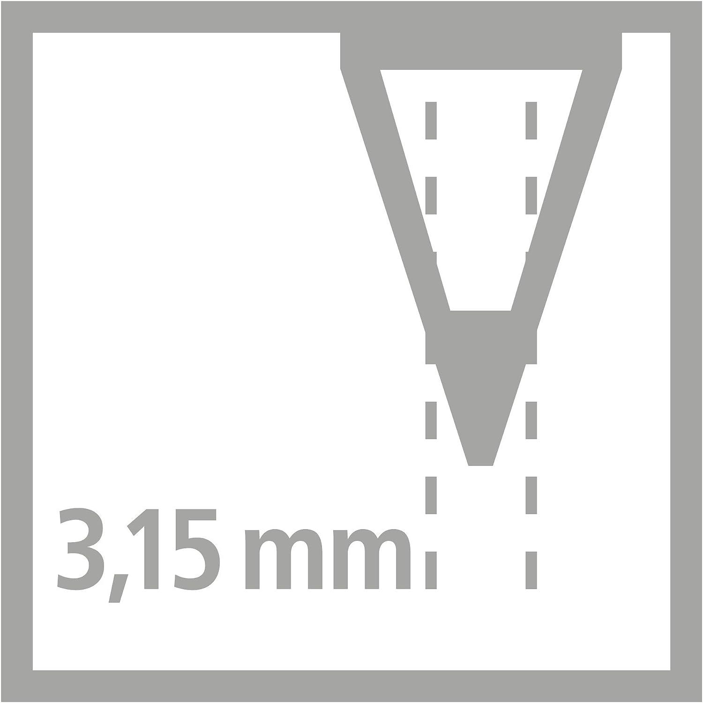 pastellpink H/ärtegrad HB Ergonomischer Dreikant-Bleistift f/ür Rechtsh/änder STABILO EASYgraph in pastellgr/ün pastelllila 6er Pack