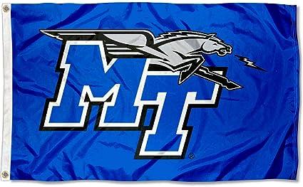 Desert Cactus Middle Tennessee State University MTSU Blue Raiders NCAA 100/% Polyester Indoor Outdoor 3 feet x 5 feet Flag