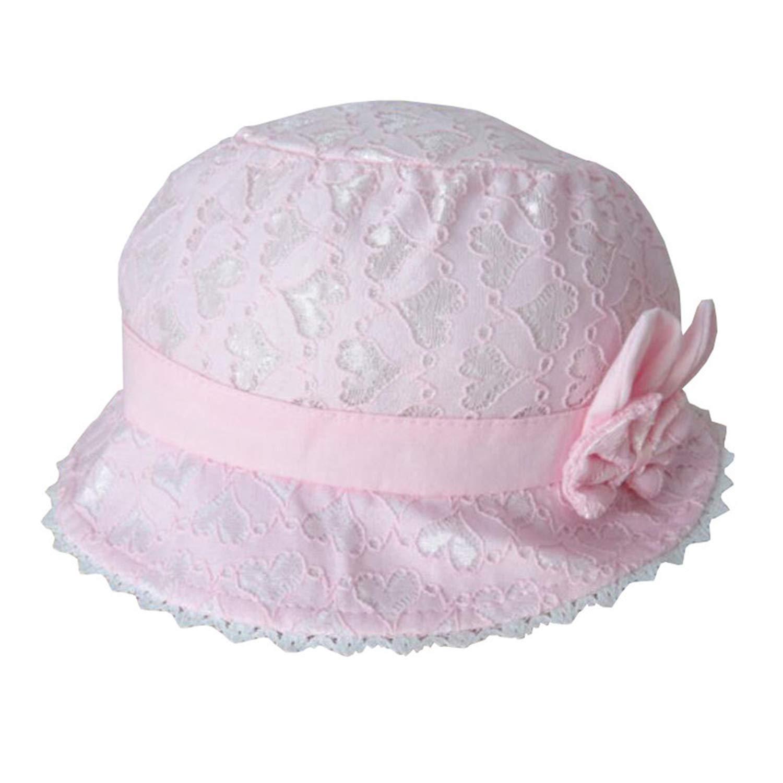 Summer Sun Hat for Girls Lace Bowknot Toddler Hats Autumn Beach Bucket Cap Children Sunscreen Cap Accessories