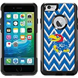 Coveroo Commuter Series Case for iPhone 6 Plus - Retail Packaging - University of Kansas Sketchy Chevron