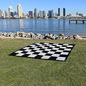 Hammer Crown Giant Vinyl Chess Mat; Fits Giant Premium Chess Pieces Set (25-Inch)