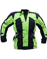 Bikers Gear UK Veste Cordura couleur Haute Visibilités
