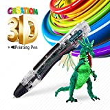 3D Doodler Pen - Safe for Kids & Adults – Simple 1 Button Operation – Won't Burn – No Mess – Non-Toxic – Won't Clog Guaranteed - 2017 Gen 3D Printing Pen
