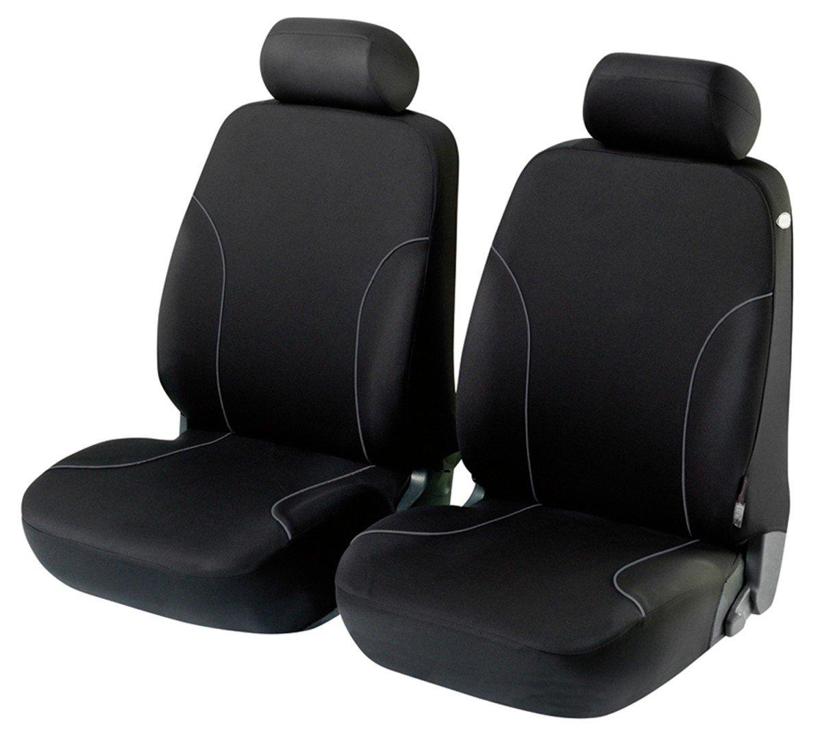 Timon 61008, Housses pour sièges de voitures auto, Garniture pour sièges avants, noir