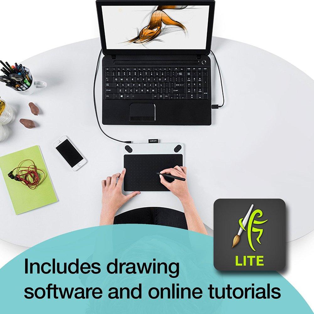 amazon com wacom ctl490dw intuos draw creative pen tablet small