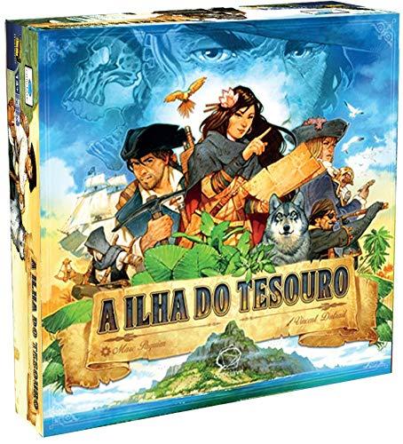 A Ilha do Tesouro - jogo de tabuleiro