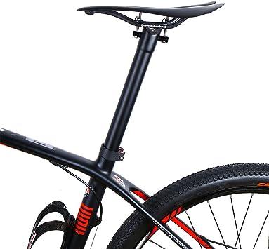 Super ligero de fibra de carbono bicicleta sillín sillín para bicicleta de carretera de montaña 3 K Full Carbon sillín MTB carbono bicicleta asiento, Matte: Amazon.es: Deportes y aire libre