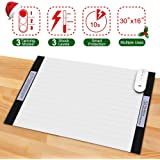 Scat Mat, DOGCARE Pet Shock Mat for Dogs & Cats with 3 Training Mode, 3 Shock Level, Safety, Low Voltage Battery for Pet Training, Keep Dog for Couch Doorways Furniture, 30x16 Inches