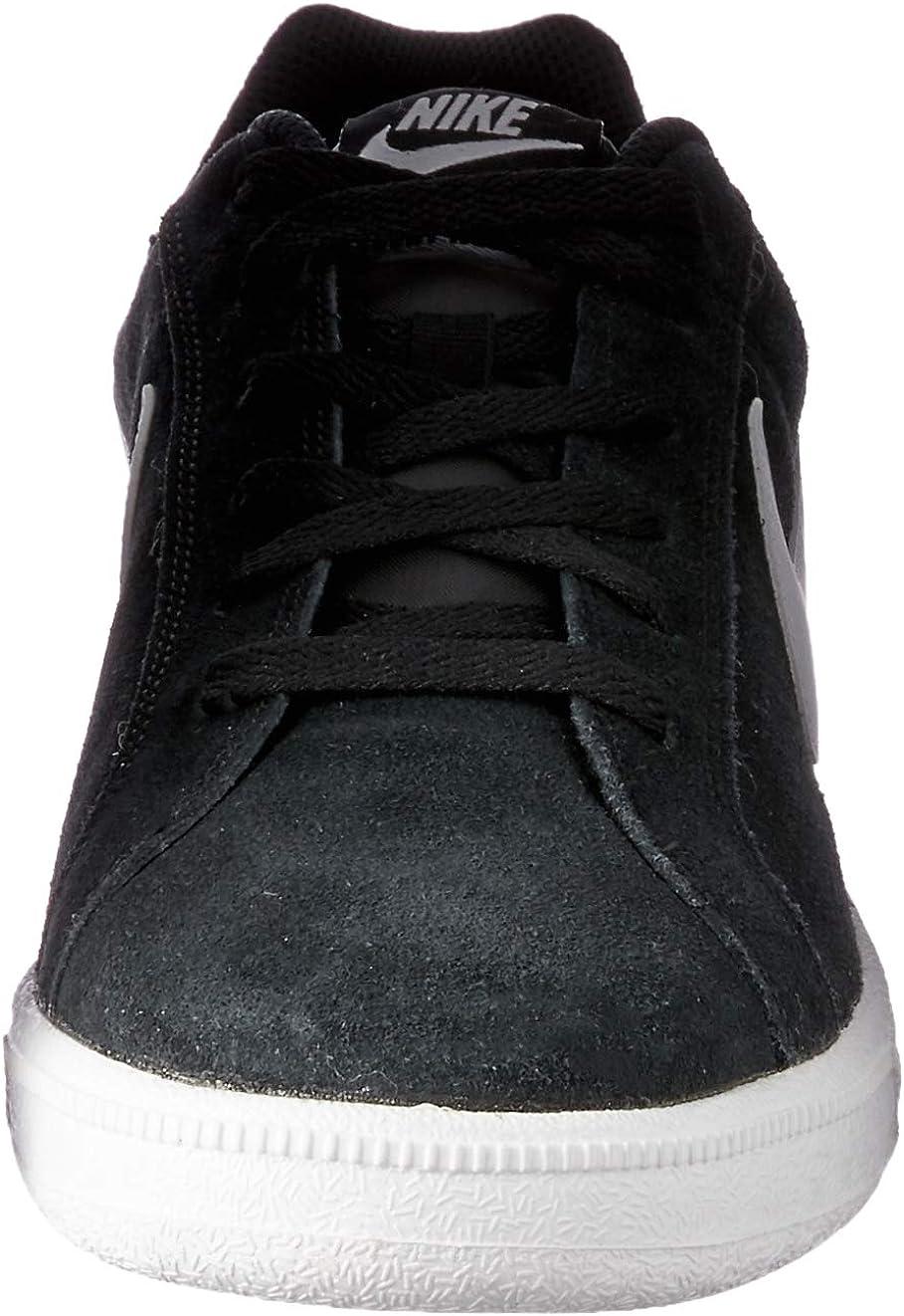 Nike Herren Court Royale Suede Sneaker, Schwarz, Einheitsgröße Schwarz Negro Blanco Aa