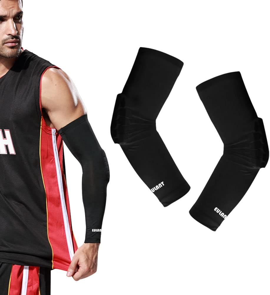 ONT Elbow Support 1 Pair Elbow Sleeves Gym Elbow Compression Sleeves with Elbow Brace Women & Men Elbow Supports for Tennis Elbow Weightlifting Workout Elbow Pads : Sports & Outdoors
