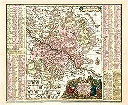 Historische Karte Dresden Mit Umgebung Um 1757 Plano Amazon De