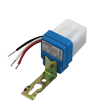 Photocell sensor wiring wire data ac 220v 10a photocell sensor automatic light control switch w 3 wire rh amazon co uk photocell light sensor wiring diagram photocell wiring directions asfbconference2016