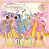 Barbie and the Three Musketeers [With Paper Dolls] (Barbie 8x8) by Man-Kong. Mary ( 2009 ) Paperback