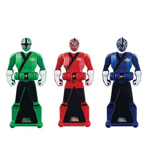 Power Rangers Super Megaforce - Samurai Legendary Ranger Key Pack Red/Blue/ Green  sc 1 st  Amazon.com & Amazon.com: Power Rangers Super Megaforce - Samurai Legendary Ranger ...