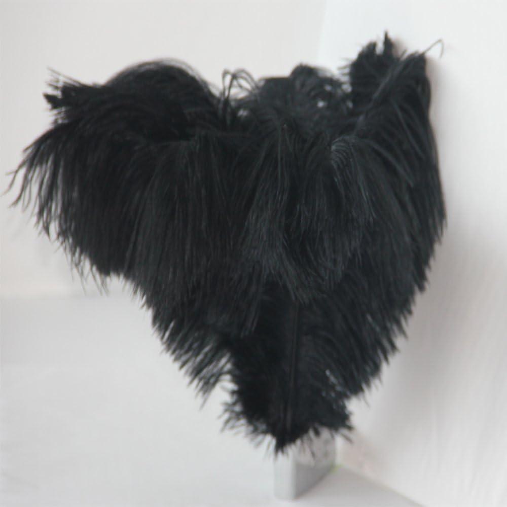 ZREAL 10 Pcs Plumes dautruche Ostrich Feathers Plume D/écoration de table de mariage 30-35cm