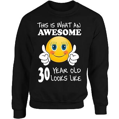 Amazon Emoji Birthday 30th Presents Woman 30 Year Old Gift