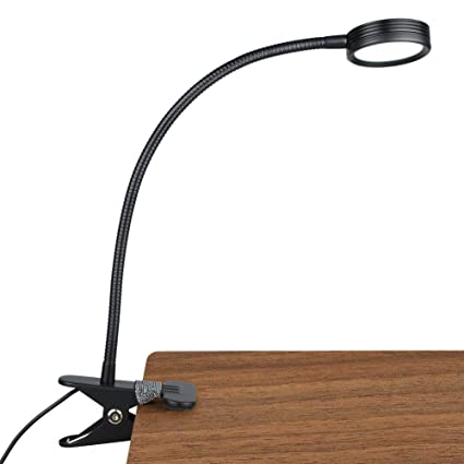 Astounding Lepower New Version Metal Clip On Light Flexible Bed Light With 3 Colors X Stepless Adjustable Brightness Eye Caring Reading Light For Desk Bed Home Remodeling Inspirations Basidirectenergyitoicom